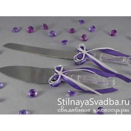 Нож и лопатка для торта свадебные фото