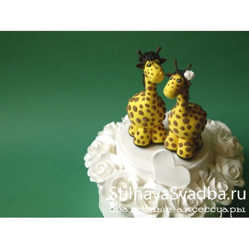 "Фигурка ""Жирафы"" фото"