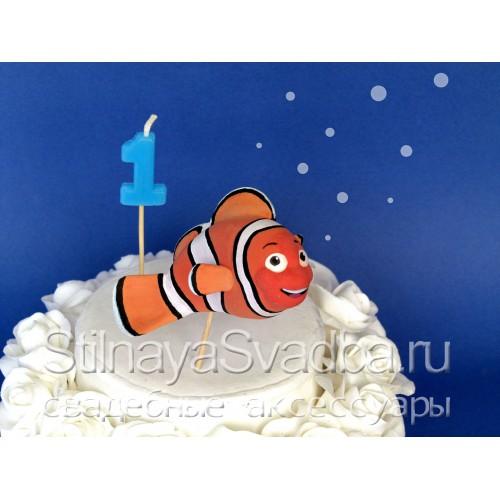 Фигурка на детский торт, рыбка Немо фото
