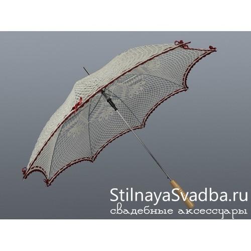 Эксклюзивные свадебные зонты. Фото 000.