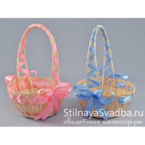 Корзинки плетёные для свадебного конкурса фото