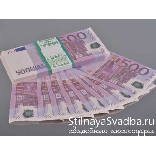 """Деньги """"500 Евро"""" фото"""