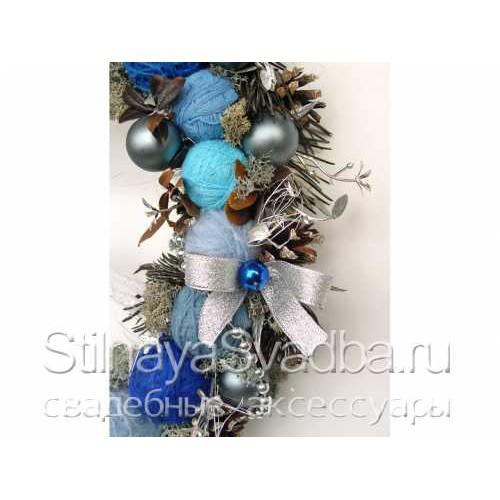 Венок рождественский Северный Олень. Фото 000.