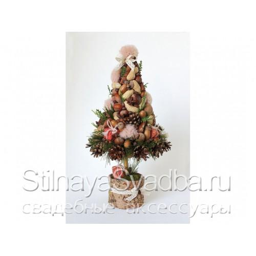 Новогодняя ёлочка с орехами фото