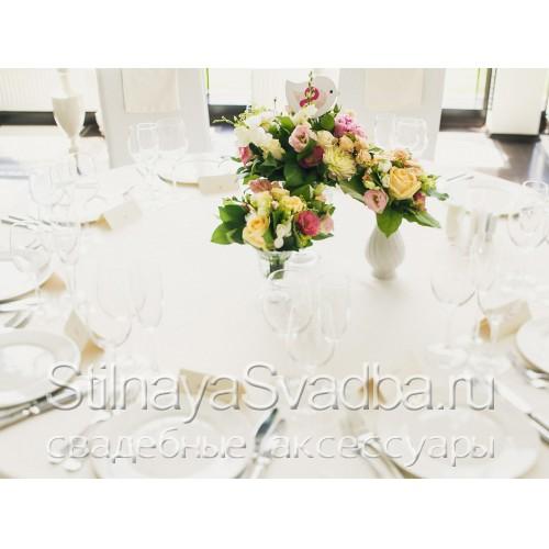 Оформление столиков гостей №36 фото