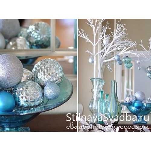 Новогодние декоративные деревья фото