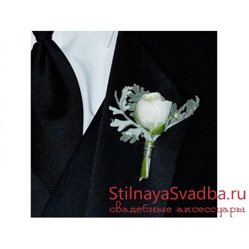 Бутоньерка жениха №3 фото