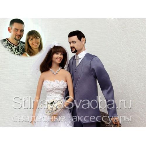 Фото. Портретные куклы жених и невеста