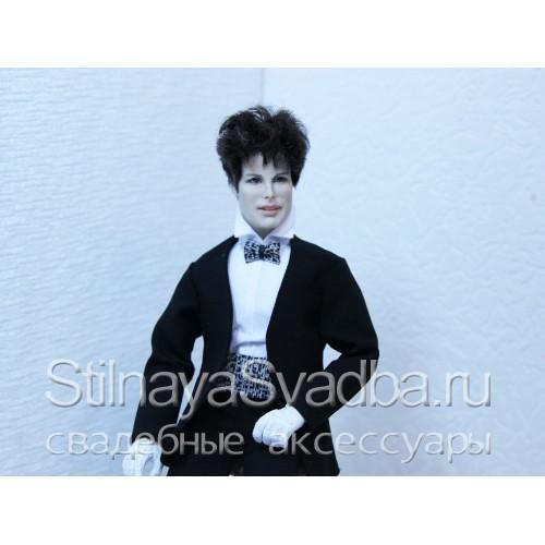 Портретная кукла Фредди Меркьюри. Фото 000.