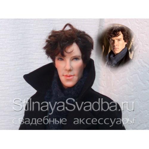 """Портретная кукла """"Шерлок"""" фото"""