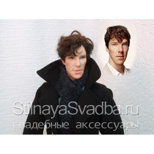 """Портретная кукла """"Шерлок"""". Фото 000."""