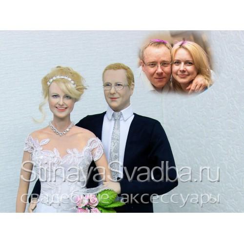 Свадебные портретные куклы фото