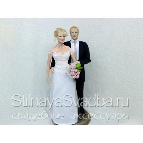 Свадебные портретные куклы. Фото 000.