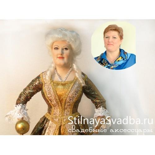 """""""Императрица""""портретная кукла фото"""