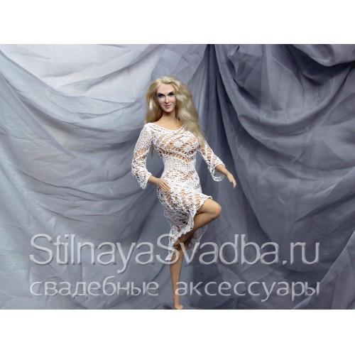 Кукла-портрет девушки в позрачном одеянии фото