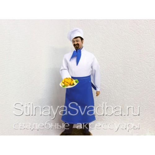 Кукла известного кулинара Михаила Плотникова фото