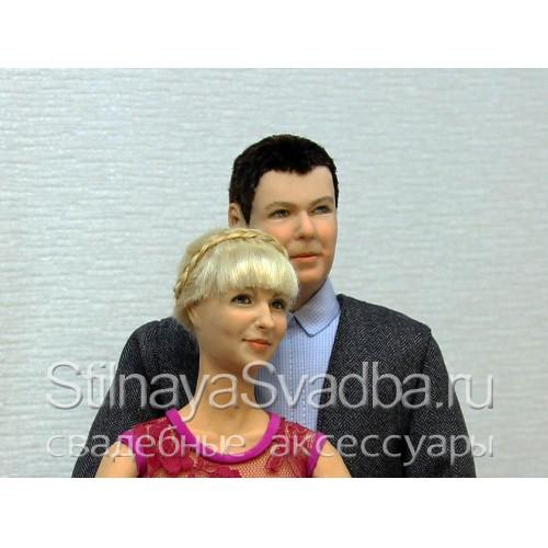 Портретные куклы к годовщине свадьбы. Фото 000.