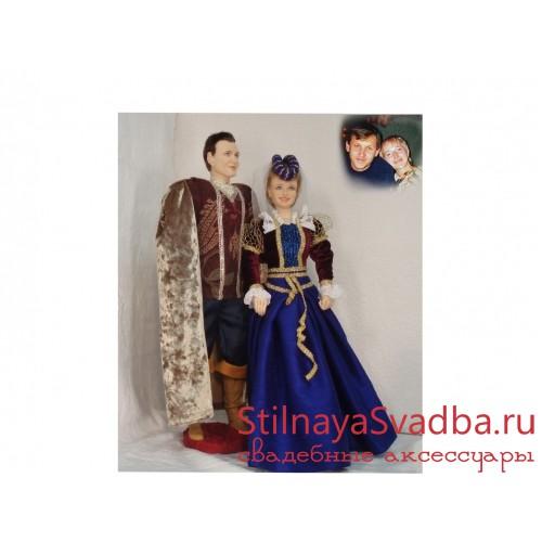 Куклы в исторических костюмах  к фарфоровой свадьбе фото