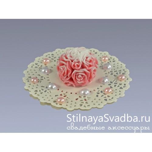 Сувенирное мыло Розовый букет фото