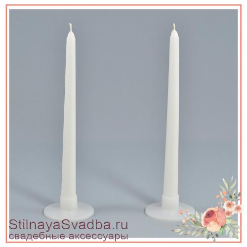 Свечи длинные на подсвечниках фото