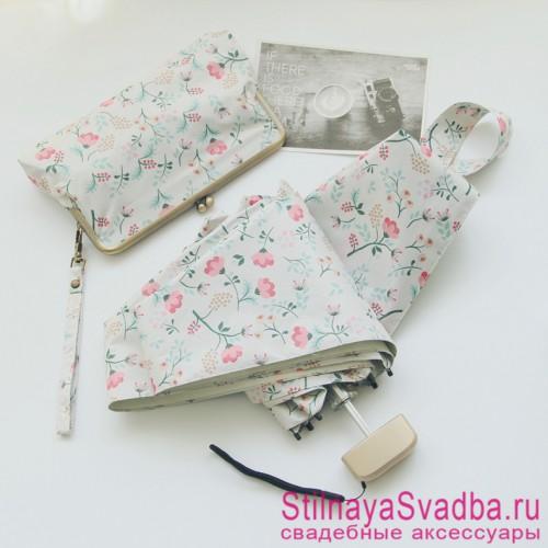 Зонтик с сумочкой в комплекте  фото