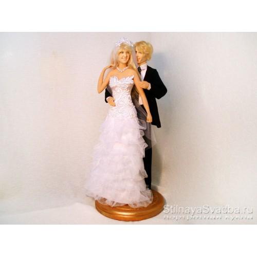 Портретные куклы к свадьбе. Фото 000.