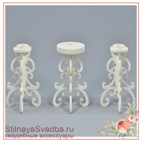 Подсвечники для свадебных свечей домашний очаг фото