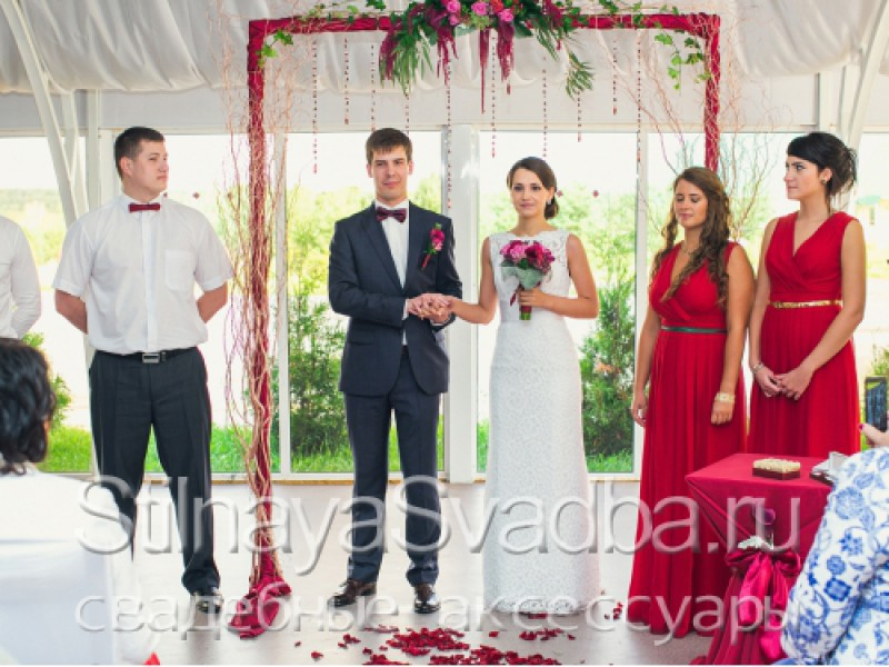 Выездная регистрация- Винная свадьба