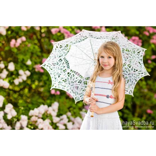 Нежный и воздушный  зонтик для девочки  фото