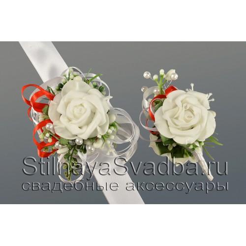 Браслеты для невесты или подружек невесты в ассортименте. Фото 000.