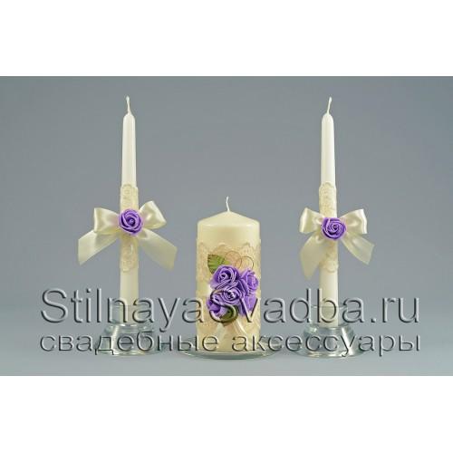 Свадебные свечи, Карина фото