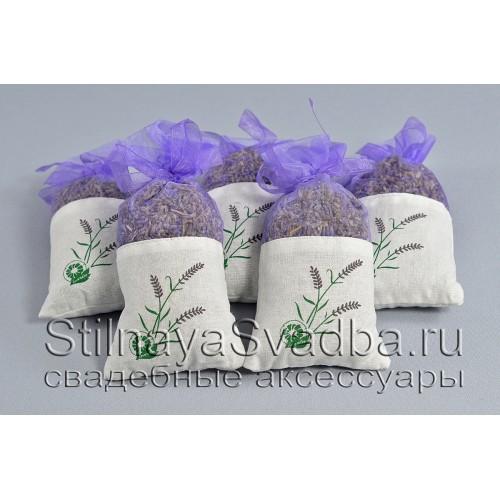 Мешочки с лавандой,  ароматные сухоцветы фото