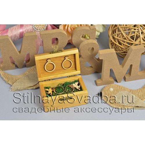Шкатулочка для  рустикальной свадьбы с ангелочками фото