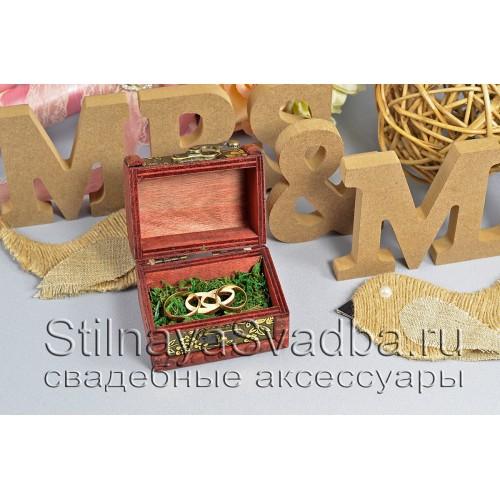 Деревянная миниатюрная шкатулочка-сундучок фото