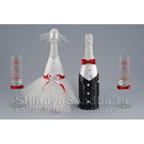 Свадебные бутылки жених и невеста фото