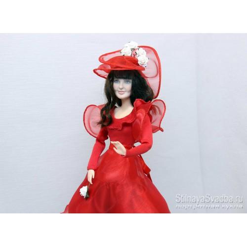 Портретная кукла  Маша-Барби. Фото 000.