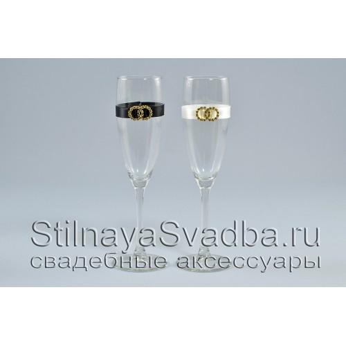 Бокалы для битья на свадьбу с обручальными кольцами фото