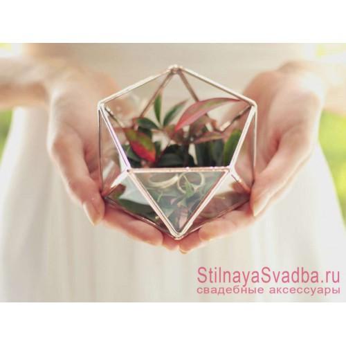 Флорариум для колец с зеленью фото