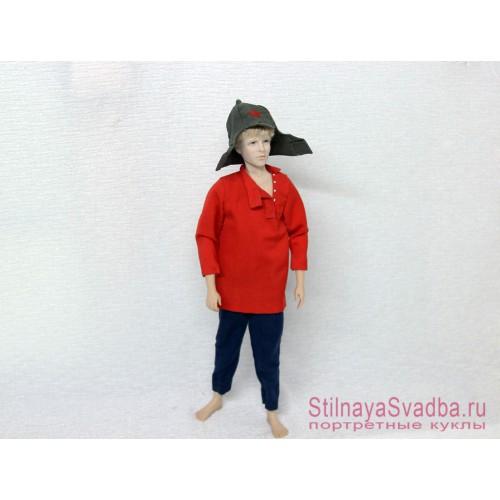 Мальчиш-Кибальчиш кукла портрет фото