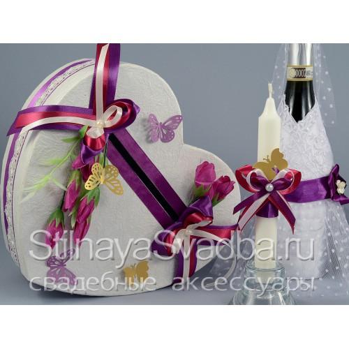 Свадебные аксессуары по мотивам Бабочки . Фото 000.