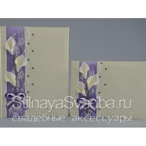 Коллекция свадебных аксессуаров Нежные каллы . Фото 000.