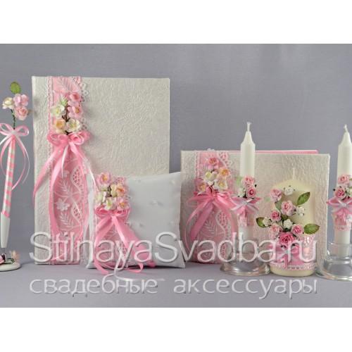 Коллекция свадебных  аксессуаров Вишнёвый сад фото