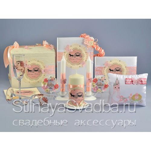 Коллекция свадебных аксессуров для свадьбы в стиле Золушка  фото