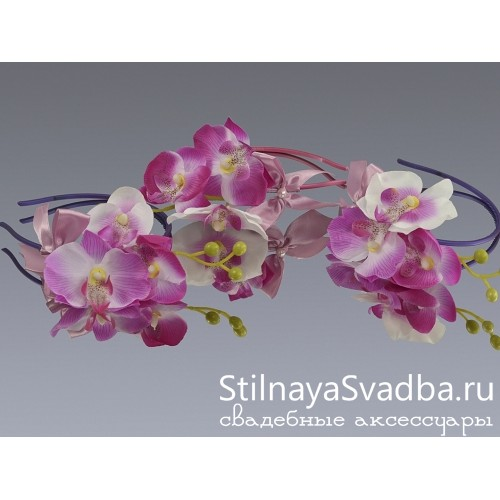Набор Лиловая орхидея . Фото 000.