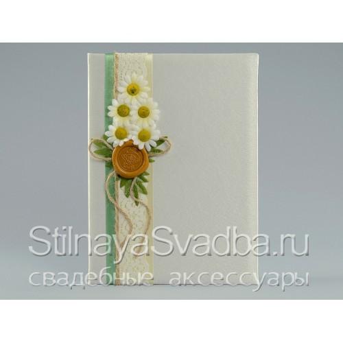 Свадебная коллекция в рустикальном стиле с сургучной печатью . Фото 000.