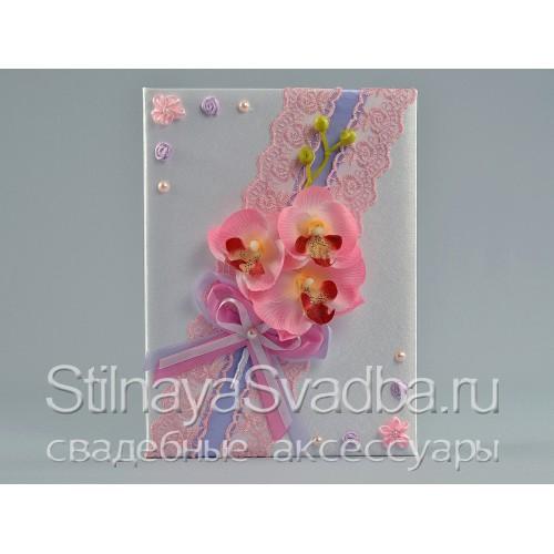 Cвадебные аксессуары Нежность орхидеи . Фото 000.