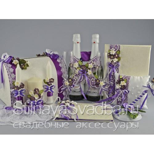 Набор свадебных аксессуаров Севилья фото