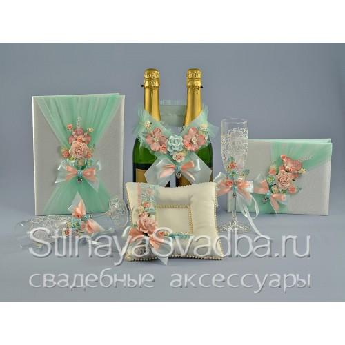 Эксклюзивная коллекция Мятный персик  фото