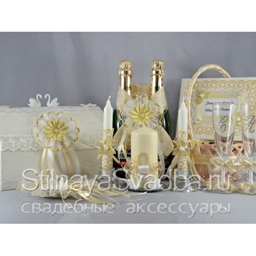 Набор для празднования Золотой свадьбы Лебединая верность фото