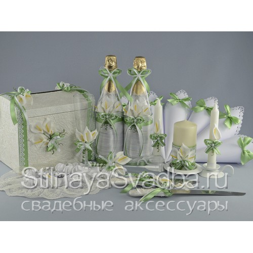 Свадебные аксессуары с каллами фото